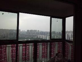 欧式 三居 地中海 80后 白领 小资 阳台图片来自岚庭家居在鸿瑞佳苑122㎡地中海风格的分享