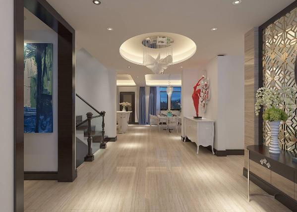 主要设计围绕的主题就是让人在进入别墅的一瞬间,就可以感受到优雅又不失随意的氛围,而这些都通过家具和装修风格完美的呈现了出来。