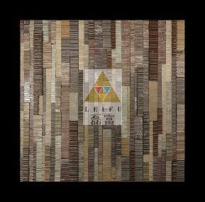 欧式 田园 混搭 客厅 背景墙 餐厅 别墅 简约 其他图片来自磊富马赛克-材料肌理研究在错码系列餐厅背景墙运用的分享