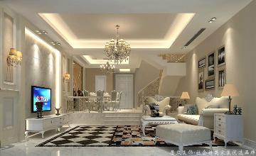 光耀城-欧式风格-320平米别墅