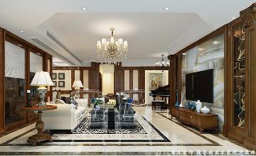 世纪村王府-美式风格-275平米
