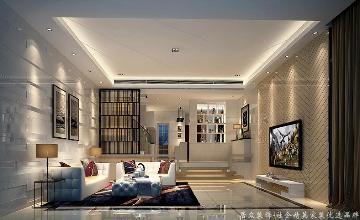 居众装饰-星河丹堤-简约-420平米