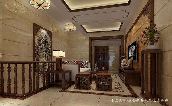 选材方面,惯用的暖色材质,大大提升了原质感的对比效果,在表现高雅的同时还增添了几分温馨感。