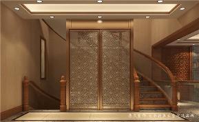 别墅 中式 新中式 楼梯图片来自深圳居众装饰集团在典雅尊贵中式别墅-350㎡的分享