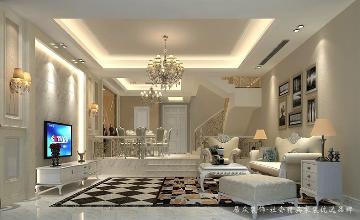 光耀城-欧式风格-130平米
