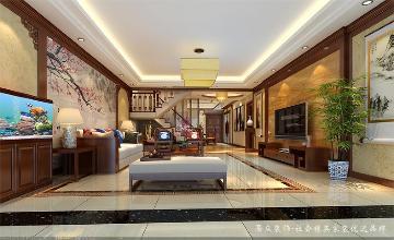 中海康城-中式风格-360平米