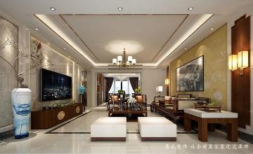兆阳御花园-中式风格-203平米
