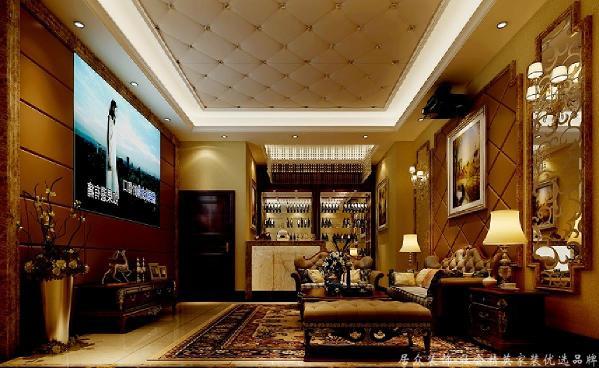 地下室,多出雕花设计,体现出了华贵典雅、时尚浪漫,深沉里显露豪华,具有很强的文化韵味和历史内涵。