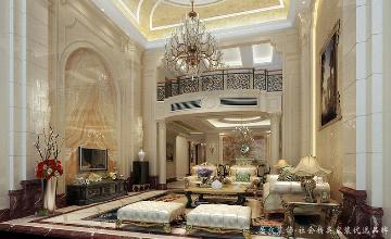 龙湾国际-新古典风格-500㎡
