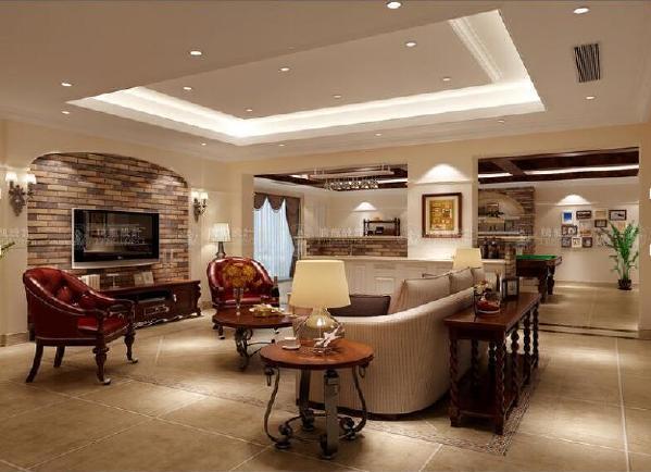 富力湾434平别墅户型装修欧美风格设计方案展示,上海腾龙别墅设计师季蓓菁作品,欢迎品鉴!