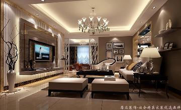 东源香山-现代风格-160㎡
