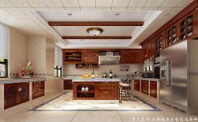 地中海 别墅 大气 舒适 厨房图片来自居众装饰长沙分公司在保利阆峰-地中海风格-380㎡的分享