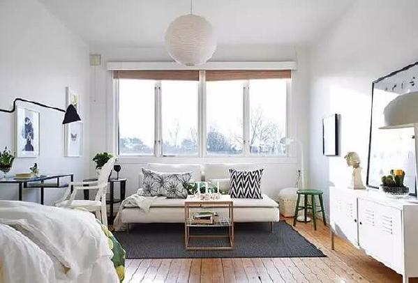 清新简约风一居室装修案例欣赏