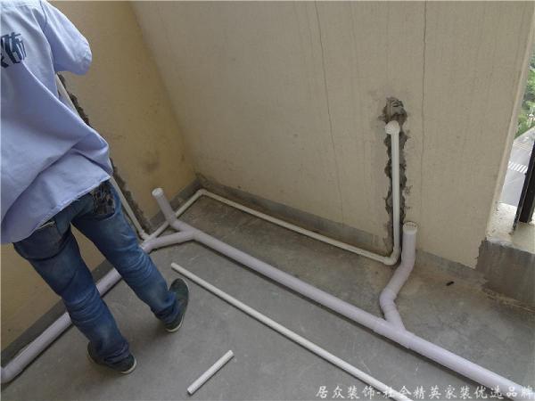 水电阶段,根据施工图布局走线