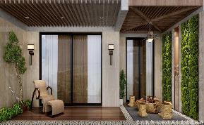 中式 阳台图片来自居众装饰长沙分公司在湘江豪庭-中式-四居的分享