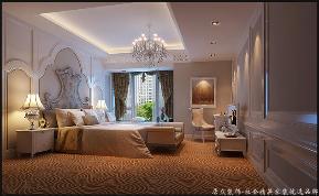 欧式 温馨 四居 卧室图片来自居众装饰长沙分公司在保利国际广场-欧式风格-210㎡的分享