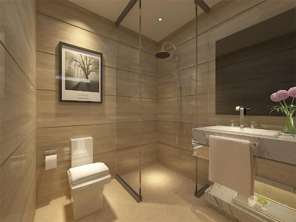 在卧室的设计中,整体色调与客厅部分一致,纯白色调搭配简洁布置显得室内整体简单大气