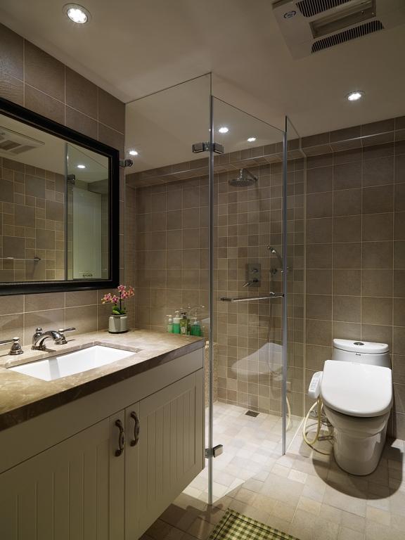 干湿分区的卫生间功能性更强。