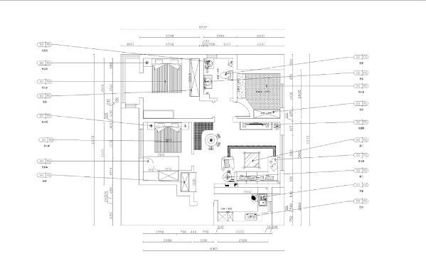整个客餐厅空间通铺800*800的地砖,卧室铺的木地板,为了减少光的反射。总之,整个空间户型还算规整,没有什么大的改动。