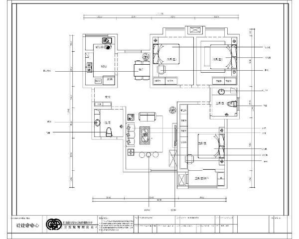 本户为三室一厅一厨两卫92平米的户型,首先入户是一个小玄关,右手边是客卫的位置接着往里走是客餐厅的位置,方便日常生活的使用,客厅与餐厅相对,南北通透通风和采光会比较好。