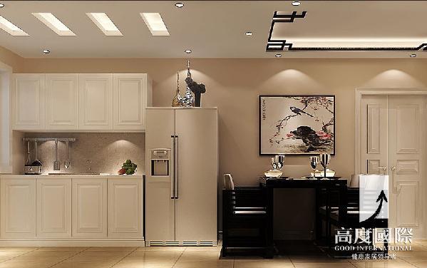 建发翡翠鹭洲—新中式风格—成都高度国际装饰设计--餐厅