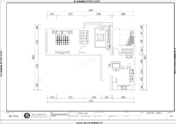 设计风格是现代简约,入户进门,右边是厨房空间,右前方是餐厅区域。过了餐厅往前,右边是卫生间空间,餐厅往前是次卧室区域。