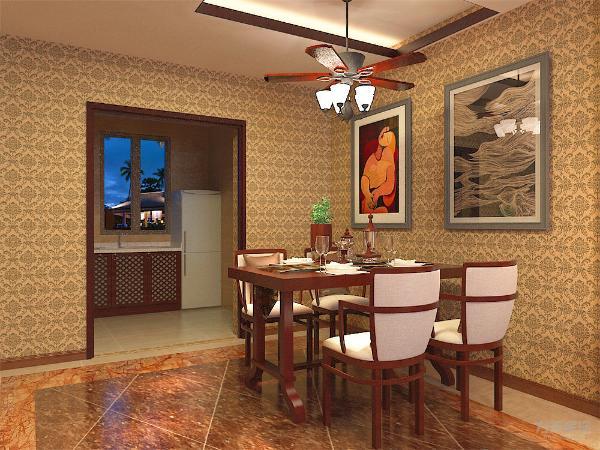 整个空间展现出一种自然随和的大气风尚,让餐厅与厨房实现了更多的交互,整个客餐厅空间变得宽敞。