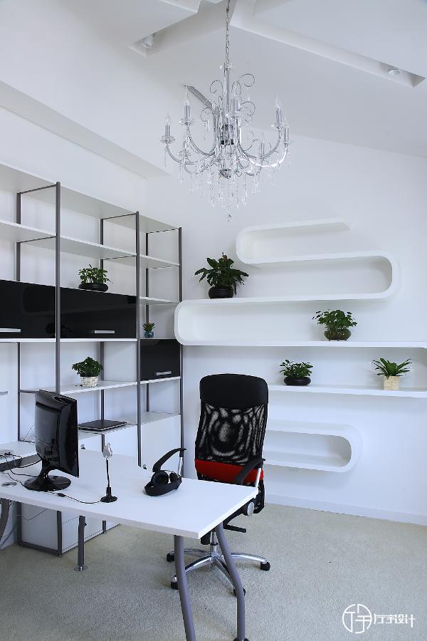 书房:工作学习的地方,干净整洁,才会有好的心情工作