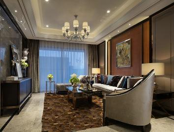 新古典三居室,鼎世华府122平