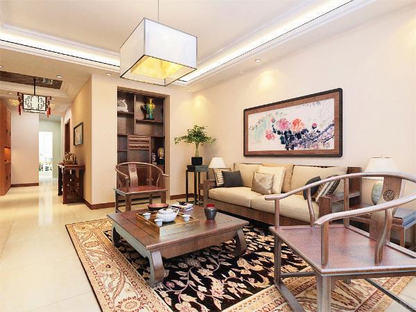 本案在总体上呈现多元化,兼容并蓄的状况。室内布置中也有既趋于现代实用,又吸取传统的特征,