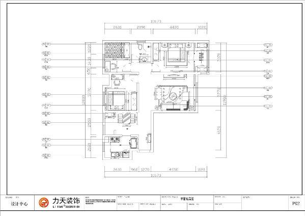 本案为观锦A户型,面积133平米三室两厅一卫标准户型。