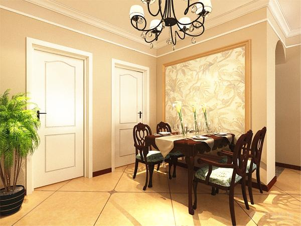 房间里有一个窗户,通风效果和采光效果也会非常好的。最后是餐厅,餐厅面积不大,所以没有放太多的东西,而且餐厅跟客厅是想通的,所以通风和采光是没有问题的。