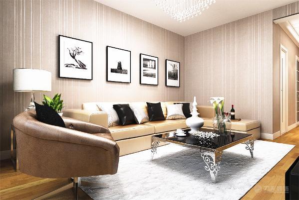 整体风格为现代简约,因为成本的控制所以在整体上没有太多的造型,吊顶方面就客厅的电视墙轻钢龙骨石膏板吊顶并且带灯带,