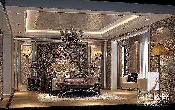 世茂玉锦湾-186平方米-欧式风格-卧室