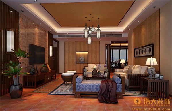 一种结合了东南亚民族岛屿特色及精致文化品位的家居设计方式。