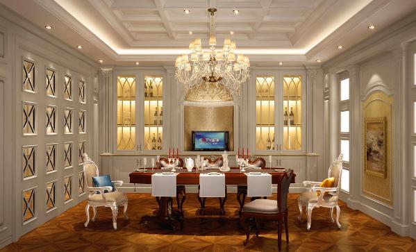 祥生御江湾大宅户型装修欧式风格设计方案展示,上海腾龙别墅设计师劳纳作品,欢迎品鉴!