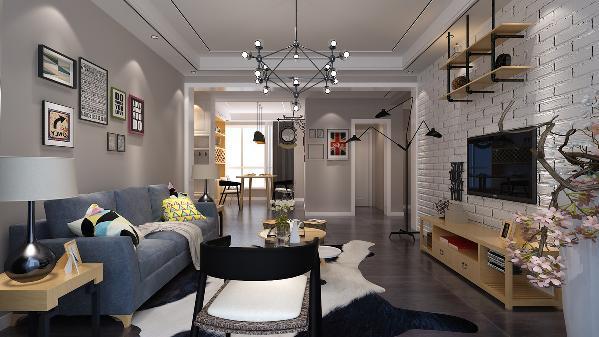它的家居风格很大程度体现在家具的设计上。注重功能,简化设计,线条简练,多用明快的中性色。