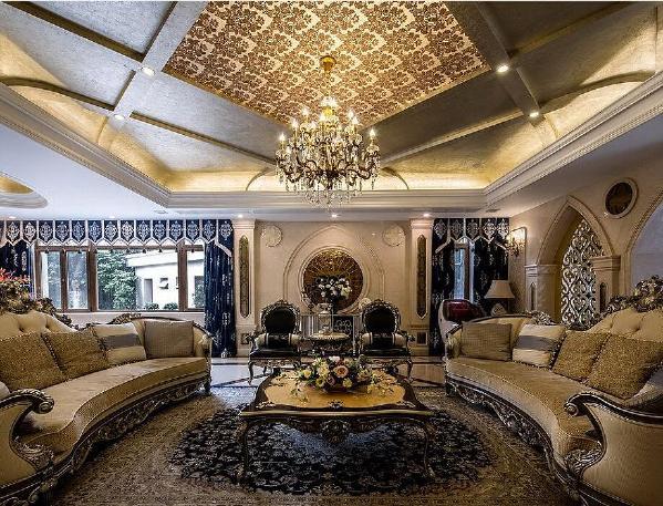 别墅装修欧式古典风格设计——上海腾龙别墅设计