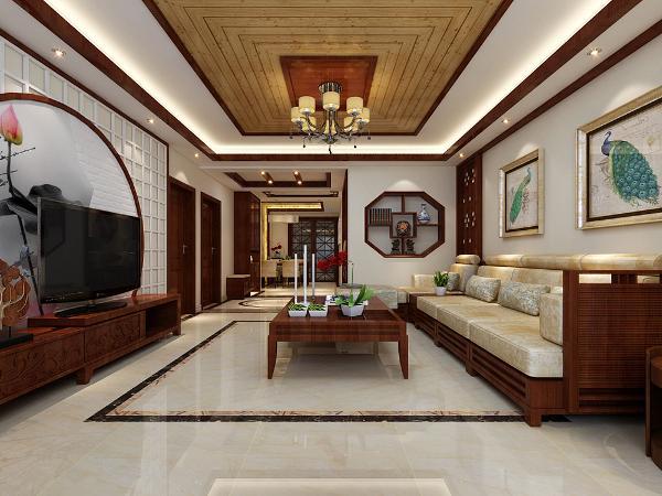 素雅的格调,米白色与深木色搭配,彰显主人不张扬却不简单的品位,直线条的家具,没有半点拖沓,这就是新中式为什么越来越受到80.90后年轻人喜爱的原因。