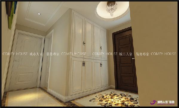更多的是考虑空间居住者本身该有的舒适性和便捷性,空间的规整划分能更好的表达设计的