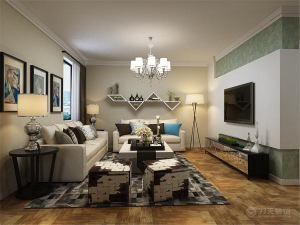 本户型为 长华里三室两厅一厨一卫97平米户型,整体布局合理。室内布置是以简约家具为主,整体感觉温馨。