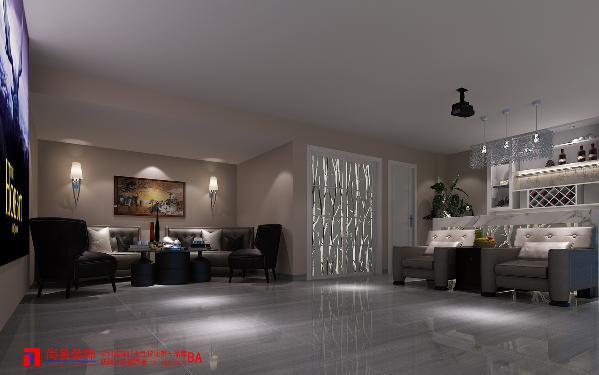地下室会客厅