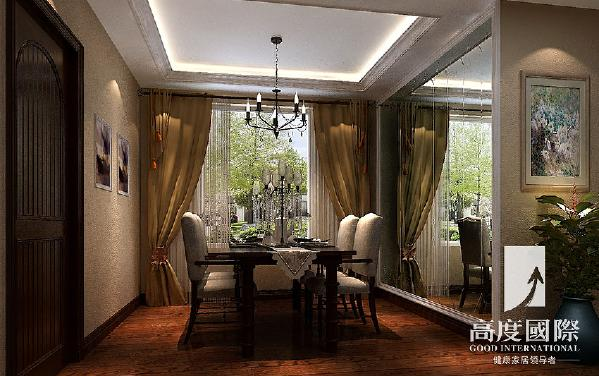 哥谭—托斯卡纳风格—成都高度国际装饰设计---餐厅