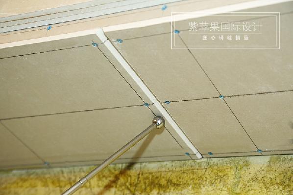 吊顶 玉锦湾187平米美式风格 成都紫苹果装饰 成都别墅装修设计 咨询:18228939660