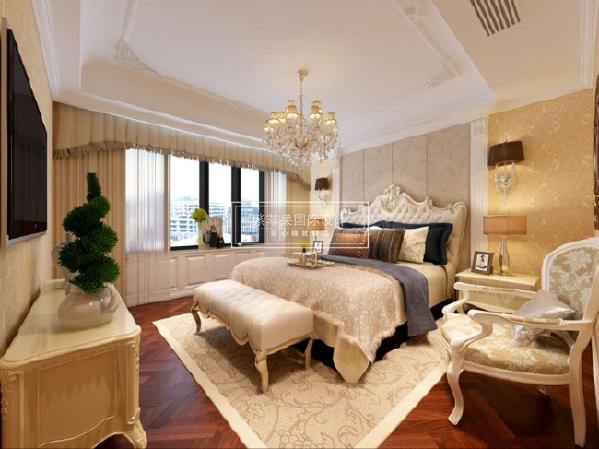 玉锦湾187平米美式风格 成都紫苹果装饰 成都别墅装修设计 咨询:18228939660