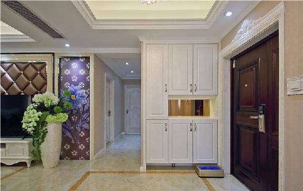 欧式 玄关图片来自北京今朝装饰装修达人在130方公寓欧式风格的分享
