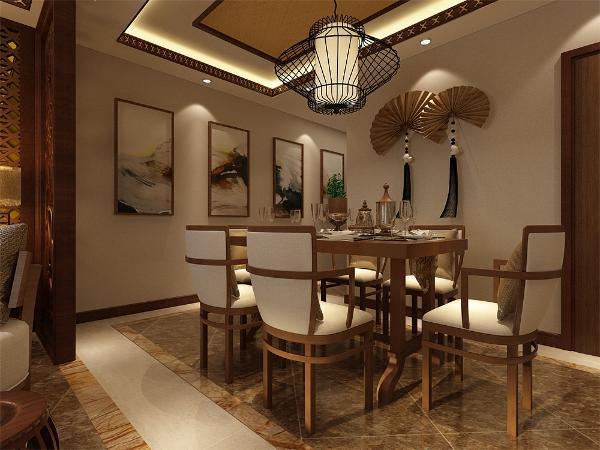 餐厅紧邻客厅,方便就餐时间,客厅有一个很大的阳台也可照射到餐厅使餐厅采光效果也很好