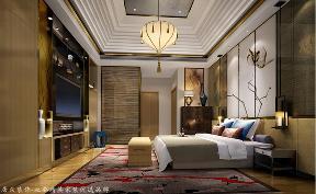 中式 其他 卧室图片来自厦门居众装饰设计工程有限公司在中铁元湾-中式风格-214㎡的分享