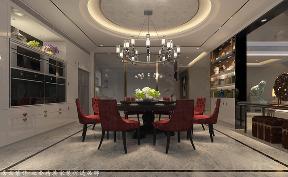 中式 其他 餐厅图片来自厦门居众装饰设计工程有限公司在中铁元湾-中式风格-214㎡的分享