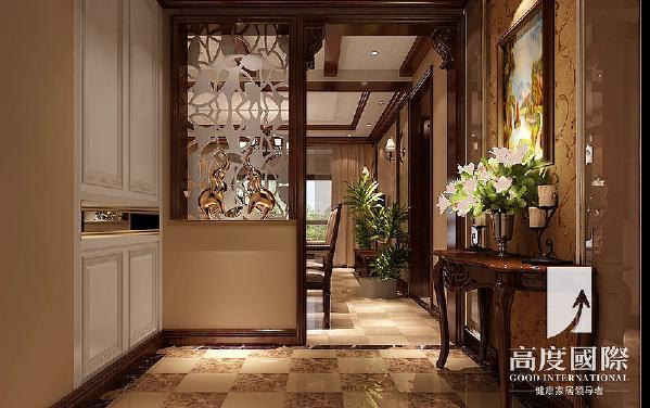两江国际—美式风格---门厅